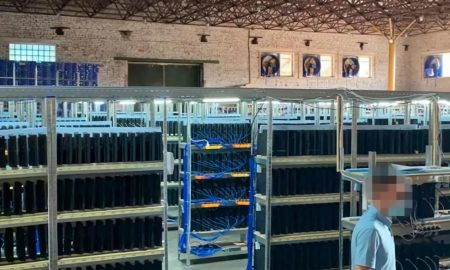 Ukrainian authorities have found a mining farm with thousands of PS4 Pro