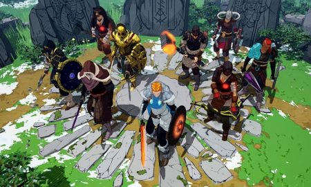 Fight to save the world in Tribes of Midgard cooperative survival gameplay