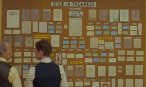 Excerpt from Wes Anderson's French Gazette from Cannes Film Festival