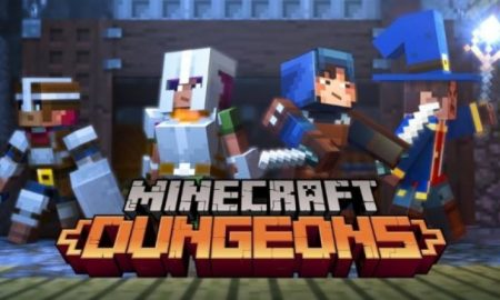 Minecraft Dungeons + Multiplayer on PC (New version) Free Download